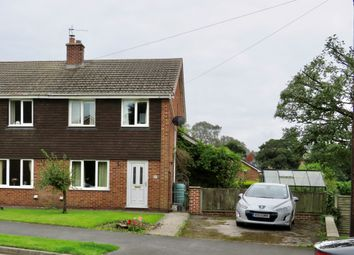 Thumbnail 3 bed semi-detached house for sale in Willow Meadow Road, Ashbourne