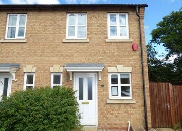 Thumbnail 2 bed semi-detached house for sale in Nero Way, North Hykeham, Lincoln, Lincolnshire
