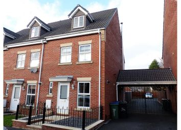 Thumbnail 3 bedroom end terrace house for sale in Elbow Street, Cradley Heath
