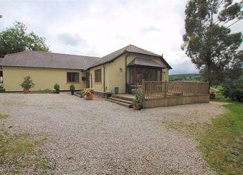 Thumbnail 4 bed detached bungalow for sale in Llanfair Dyffryn Clwyd, Ruthin, Denbighshire