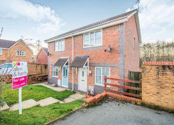 Thumbnail 2 bedroom semi-detached house for sale in Hollington Drive, Pontprennau, Cardiff