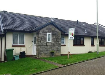 Thumbnail 2 bedroom terraced bungalow to rent in Skern Way, Northam, Bideford, Devon