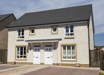 "Thumbnail 3 bed semi-detached house for sale in ""Cawdor"" at Drip Road, Stirling"