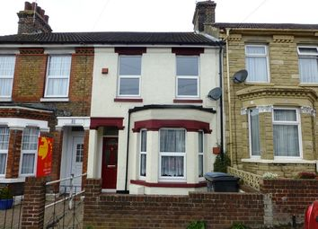 Thumbnail 3 bed terraced house to rent in Eaton Road, Dover