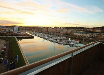 Thumbnail 2 bed flat to rent in Sixty8 On The Marina, Newfoundland Way, Portishead.