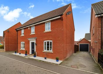 Thumbnail 4 bed detached house for sale in Tummel Way, Attleborough