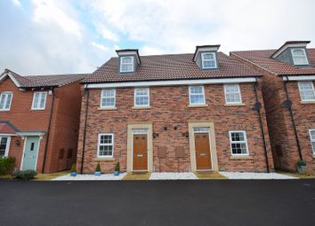 Thumbnail 4 bedroom semi-detached house for sale in Queensbury Park Drive, Shelton Lock, Derby