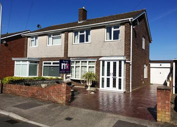 Thumbnail 3 bedroom semi-detached house for sale in Priory Gardens, Usk