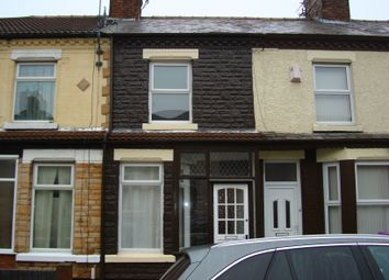 Thumbnail 2 bed terraced house to rent in Waltham Road, Liverpool
