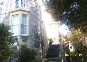 Thumbnail 1 bed flat to rent in Highbury Road, Weston-Super-Mare