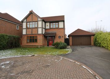 Thumbnail 4 bed detached house for sale in Cromwell Way, Penwortham, Preston, Lancashire