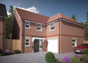 Thumbnail 4 bed detached house for sale in Spring Wood Close, Bunces Lane, Burghfield Common, Berkshire
