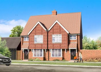 Thumbnail 3 bed semi-detached house for sale in Evabourne, Peters Village, Wouldham, Rochester, Kent