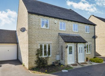 Thumbnail 3 bed semi-detached house for sale in Woodrush Gardens, Carterton