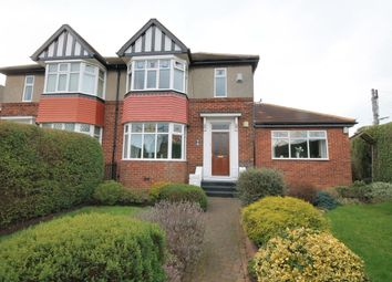 Thumbnail 3 bed semi-detached house for sale in Park Road North, Chester Le Street