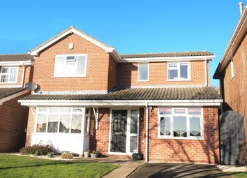 Thumbnail 4 bed detached house for sale in St Wilfrids Close, Kibworth Beauchamp, Leicester