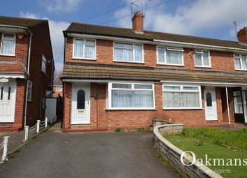 Thumbnail 3 bedroom end terrace house for sale in Rachel Gardens, Birmingham, West Midlands.