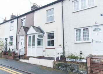 Thumbnail 3 bed terraced house for sale in Alfred Road, Brentwood