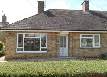 Thumbnail 2 bed bungalow to rent in Mill Field, Sutton, Ely