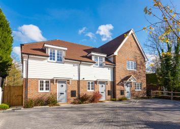 Thumbnail 2 bedroom end terrace house for sale in High Street, Rusper, Horsham