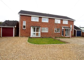 Thumbnail 4 bed semi-detached house to rent in Silfield Road, Wymondham, Norfolk