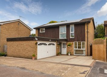 Thumbnail 4 bed detached house for sale in Farthing Drive, Letchworth Garden City