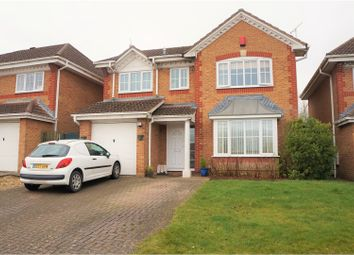 Thumbnail 4 bed detached house for sale in Clayhill Copse, Swindon