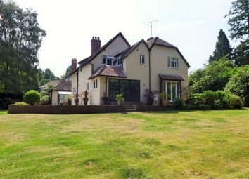 Thumbnail 5 bed detached house to rent in Branksomewood Road, Fleet