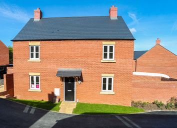 Thumbnail 4 bedroom detached house for sale in Stonecutters, Roade, Northampton