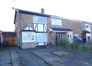 Thumbnail 2 bed semi-detached house for sale in St. Denys Crescent, Ibstock, Leicestershire