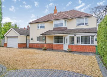 Thumbnail 5 bed detached house for sale in Hurst Green Road, Solihull