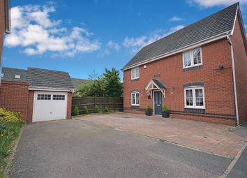 Thumbnail 4 bed detached house for sale in Ayr Close, Corby