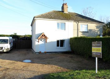 Thumbnail 3 bed semi-detached house for sale in Lynn Road, Southery, Downham Market