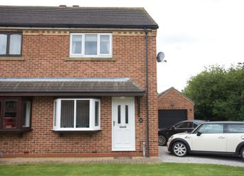 Thumbnail 2 bedroom semi-detached house for sale in The Peppercorns, Gilberdyke, East Yorkshire