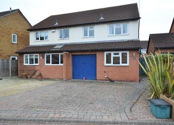 Thumbnail 3 bed semi-detached house to rent in Swanscombe Place, Hatherley, Cheltenham