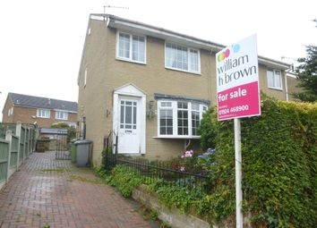 Thumbnail 2 bed semi-detached house for sale in Broad Oaks Close, Earlsheaton, Dewsbury