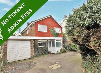 Thumbnail 4 bed detached house to rent in Ashley Road, Epsom