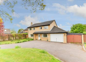 Thumbnail 4 bedroom detached house for sale in Cross Lane, Melbourn, Royston
