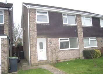 Thumbnail 3 bed semi-detached house to rent in Hornbeam Road, Havant