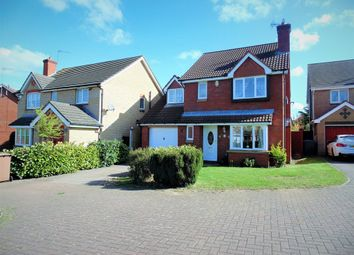 Thumbnail 4 bed detached house for sale in Burford Way, Wellingborough