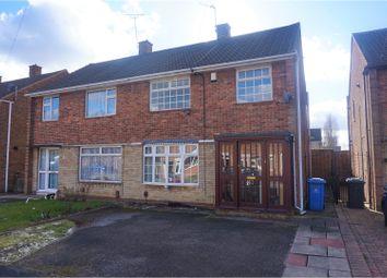 Thumbnail 3 bed semi-detached house for sale in Launceston Road, Alvaston
