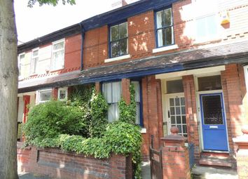 Thumbnail 3 bed terraced house to rent in Poplar Avenue, Levenshulme, Manchester