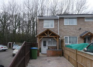 Thumbnail 2 bed end terrace house to rent in Puffin Close, Southampton