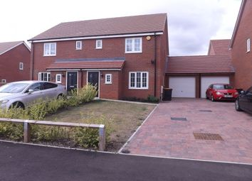 Thumbnail 3 bed property to rent in Canberra Road, Shortstown, Bedford
