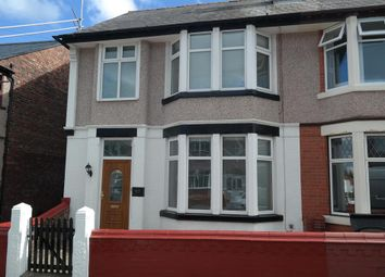 Thumbnail 4 bed semi-detached house to rent in Cliff Road, Wallasey