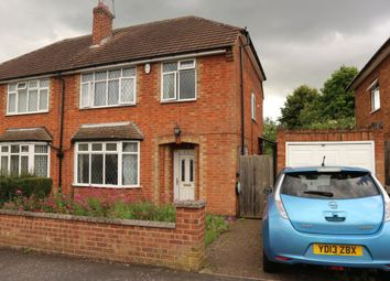 Thumbnail 3 bed semi-detached house to rent in Fairfield Road, Oadby