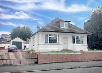 Thumbnail 4 bed detached bungalow for sale in Clarence Street, Clydebank, West Dunbartonshire
