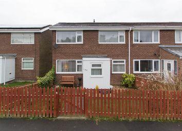 Thumbnail 3 bedroom end terrace house for sale in Castledene Road, Consett