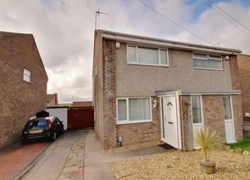 Thumbnail 2 bed semi-detached house for sale in Rutland Close, Barry