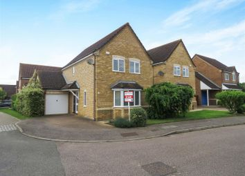 Thumbnail 3 bed detached house for sale in Popham Close, Eaton Socon, St. Neots